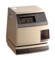 Pix 3000X Electronic Time Clock for Employees with Card Stamp