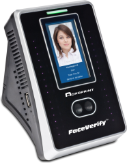 FaceVerify™ Facial Recognition Device with timeQPlus™ Software