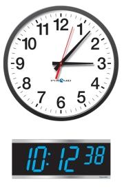Power Over Ethernet (POE) Synchronized Clocks