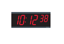 Horloges murales individuelles les horloges hiboux - Horloge numerique murale a pile ...